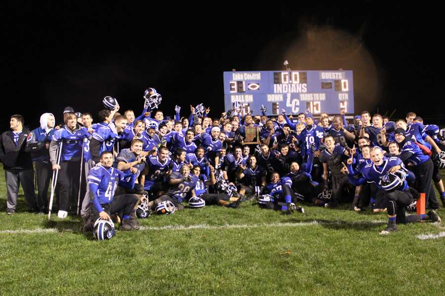 Lake Central News : Varsity football defeats Merrillville in