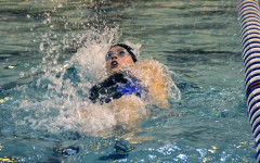 Girls swimming faces off against Portage