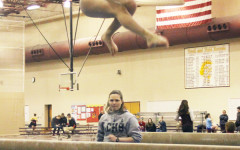 Gymnastics loses against Trojans