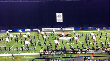 Lake Central 'Tribe of Pride' competes at the Bands of America Grand National Marching competition from Nov. 13-15 at Lucas Oil Stadium in Indianapolis, Ind. This was the last competition of their season, and they placed 24th overall.