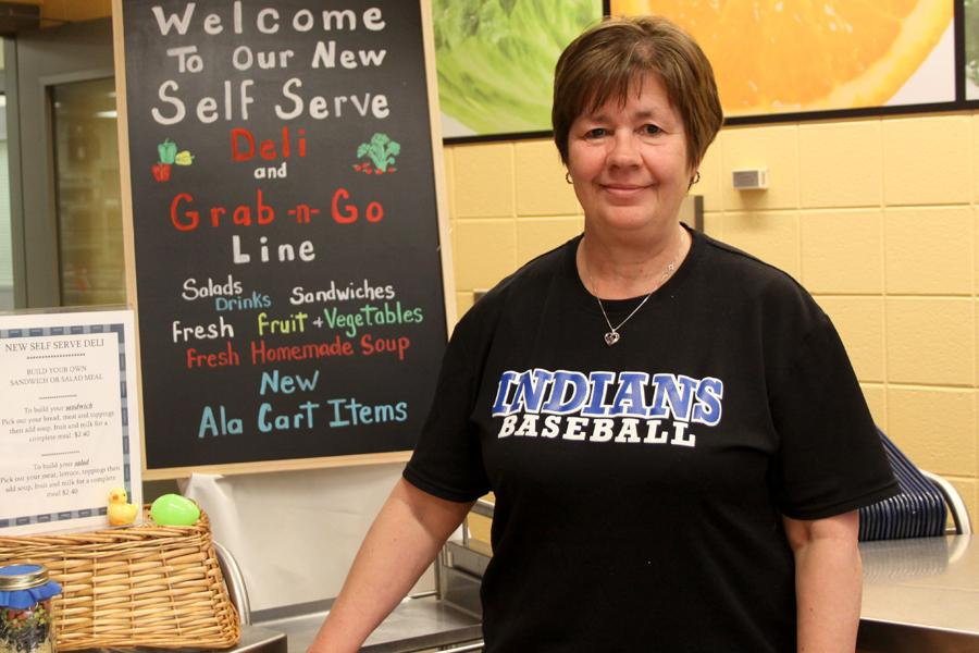 Mrs. Cindy Sandor, Food Services High School Manager, retires Friday, March 3, 2015.  Sandor has worked at Lake Central for over 25 years.