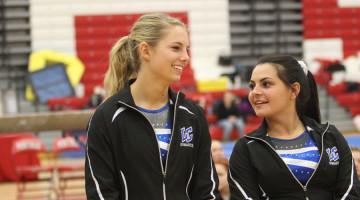 Andi Wartman (12), Lauren Markulin (12)