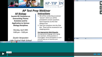 AP TIP IN Biology Session III on Vimeo