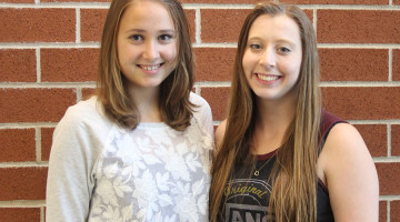 Elena Kostner (11) is a foreign exchange student from Italy. She has been staying with Hannah Peters (11).