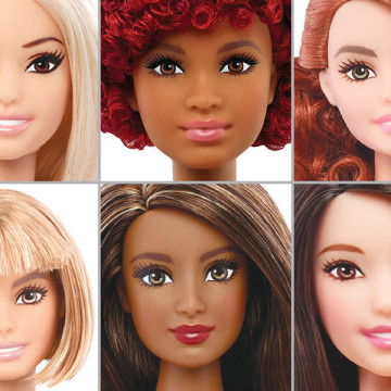 Graphic showing the new Barbie lineup. (Used with limited license: Los Angeles Times)