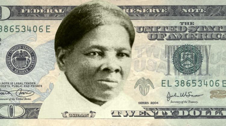 Concept art of Harriet Tubman on the $20 bill. (Used with limited license: Women on 20s/TNS)