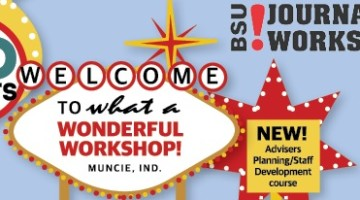 """""""With a vintage Las Vegas theme, BSU Journalism Workshops Summer Media Academy goes """"No Limits!"""" to empower students and advisers to reach greater heights in their broadcast, web, news and yearbook programs,"""" http://bsujournalismworkshops.com/workshops/summer-media-academy/"""