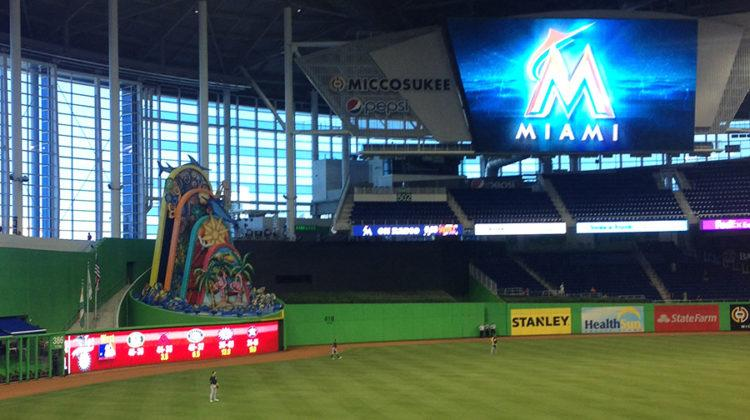 On Sunday, Sept. 25, Marlins pitcher Jose Fernandez was killed in a boating accident. The Marlins game against the Atlanta Braves was cancelled for the day.