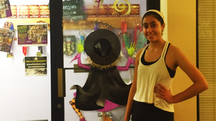 Alyssa Arreola (10) has been a dancer for thirteen years and counting. Arreola managed to balance her academic life with her busy dance schedule.