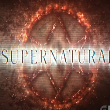 """The introduction screen for """"Supernatural"""" appears as the episode starts. The first episode of Season 12 aired on Oct. 13."""