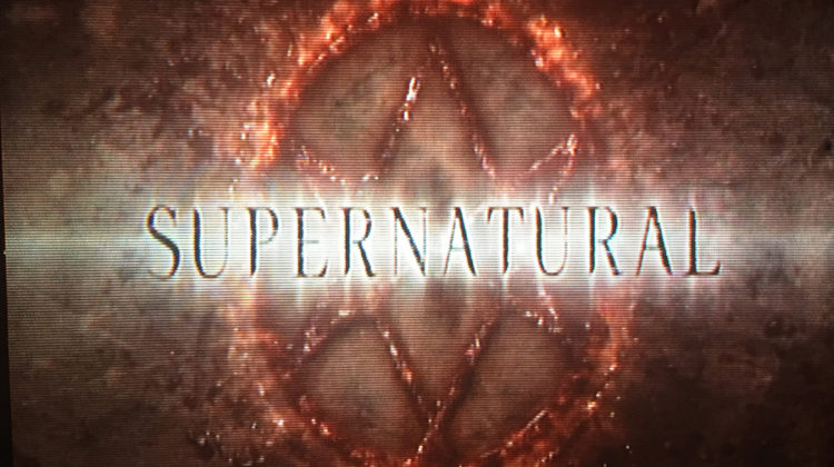 "The introduction screen for ""Supernatural"" appears as the episode starts. The first episode of Season 12 aired on Oct. 13."