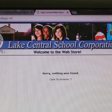 The school's web store features the link to purchase Winter Formal tickets as empty.  After the tickets for seniors and juniors went on sale, there were a limited amount of tickets left for sophomores, but not enough to accommodate everyone.