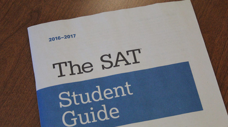 SAT prep books are a good way to practice for the test. Many juniors have signed up to take the SAT in the spring.