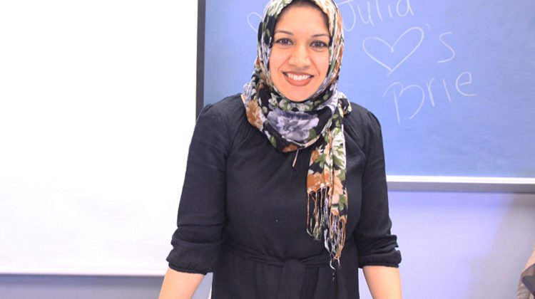 Ms. Sumera Shakir, Mathematics, loves her new job as a math teacher. She has been a permitted teacher at Lake Central since the third quarter.