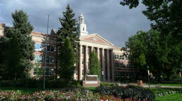 The Colorado State University campus sits in Fort Collins, Colo. Last year, the population was approximately 32 thousand students.