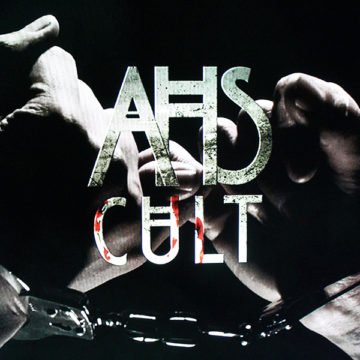 """The logo for """"American Horror Story: Cult"""" appears at the end of the show's opening credits. """"American Horror Story: Cult"""" was the seventh season of the anthology series."""