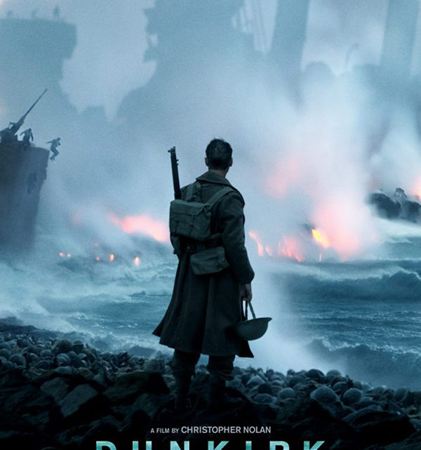 A British soldier is standing on Dunkirk beach watching as Germany continues to attack. Dunkirk was released in theaters on Friday, July 21.  Photo credit to Google Images.