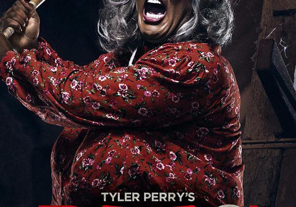 Madea is holding a baseball bat and ready to attack any of her attackers. Boo 2 was released in theaters on Friday, Oct. 20.  Picture credit to IMBd.
