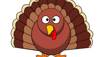 The Turkey is the most commonly used symbol for Thanksgiving. Thanksgiving is celebrated every year on the fourth Thursday of the month of November.