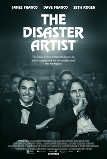 """""""The Disaster Artist"""" hit theaters on Dec. 8. Since the film's release, it had made over $6.5 million at the box office. Photo credit: Warner Bros. Entertainment."""